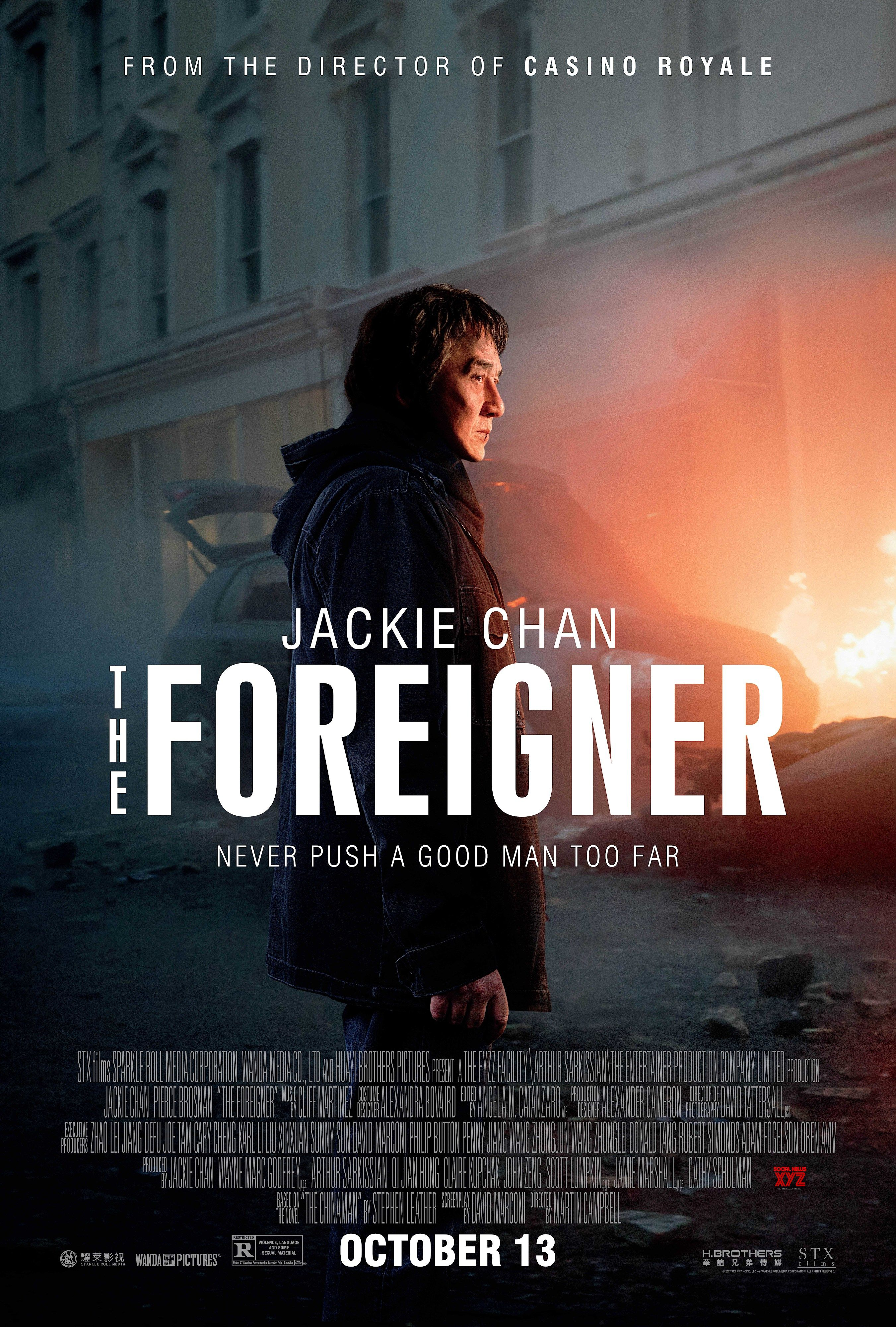 The Foreigner Movie Poster - Social News XYZ