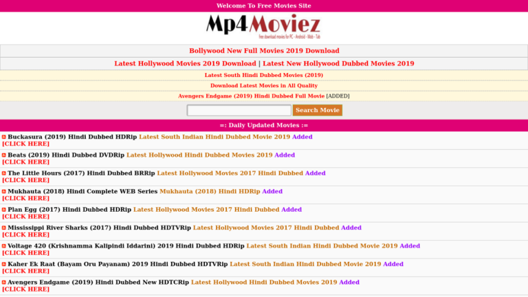 Mp4moviez - Download Mp4 Online Bollywood, Hollywood Movies & TV Shows -  Social News XYZ