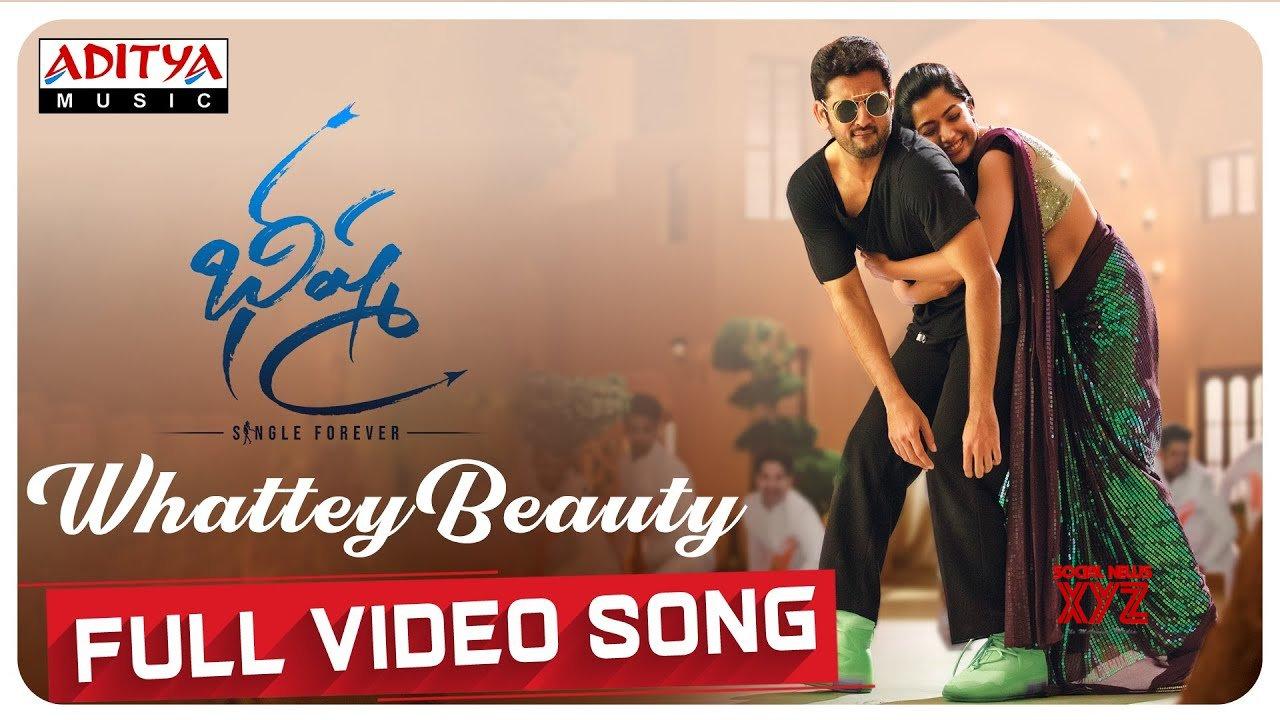 Whattey Beauty Full Video Song Bheeshma Video Songs Nithiin Rashmika Mahati Swara Sagar Hd Video Social News Xyz